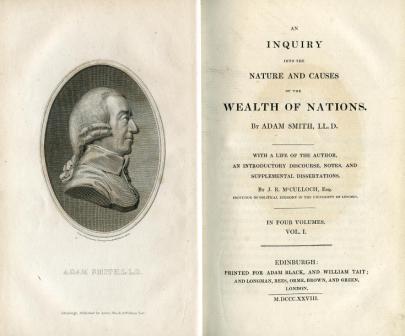 Картинки по запросу 1776 - В Лондоне вышла книга Адама Смита «Исследования о природе и причинах богатства народов».